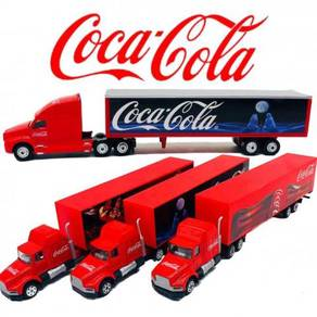Coca Cola Christmas Small Truck Lori Diecast Car