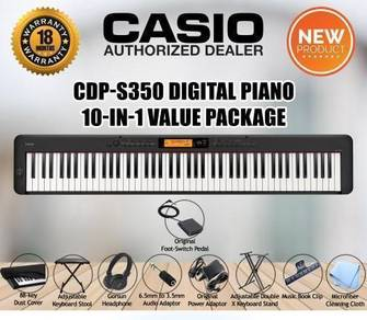 CASIO CDPS350 Digital Piano Value Package