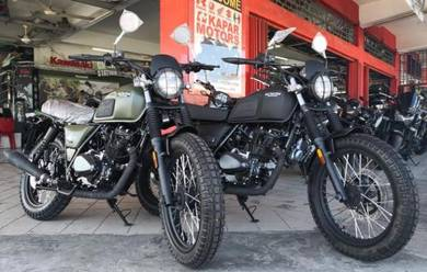 New Brixton 150 Fi BX150 Scrambler Gentlement