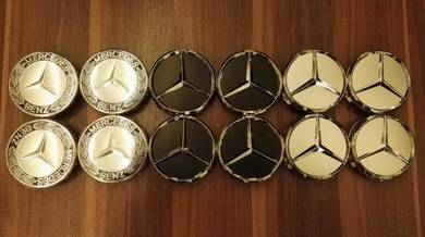 Mercedes Benz Original and AMG Wheel Rim Cap 4pcs