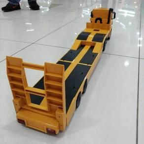 Flat bed trailer w/control lori kontena TRELER/,;