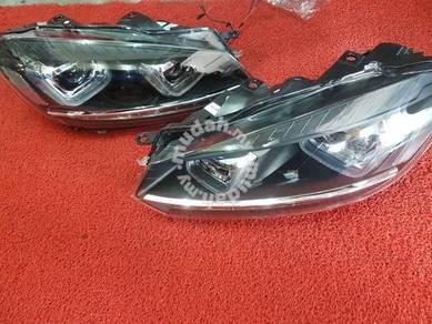 Vw golf mk6 led light bar projector head lamp