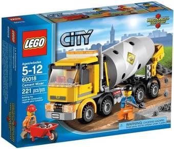 LEGO 60018 Cement Mixer