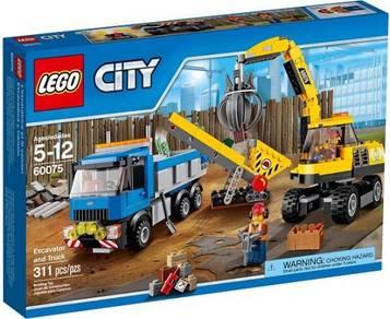 LEGO 60075 Excavator and Truck