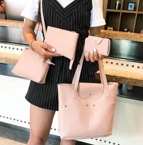 Women's Double Pocket Composition Bag BLSE 31281