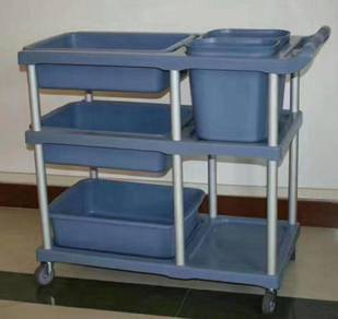 Restaurant Mamak Collection Service Trolley