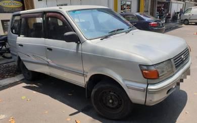 1998/99 Toyota unser (m) 1.8cc MPV petrol economy