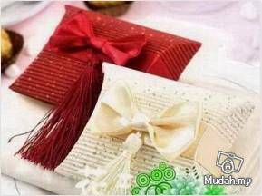 Wedding Gifts - Ivory Short Pillow Box
