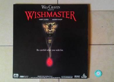 Laser Disc : Wes Carven's Wishmaster Horror Movie