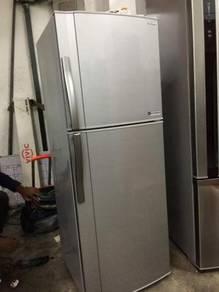 Sharp small Fridge 2 doors Refrigerator Peti Sejuk