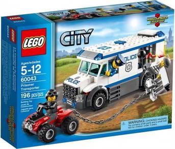 LEGO 60043 Prisoner Transporter