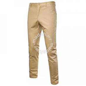 Straight Elastic Wild Long Pants MFCYG 9443