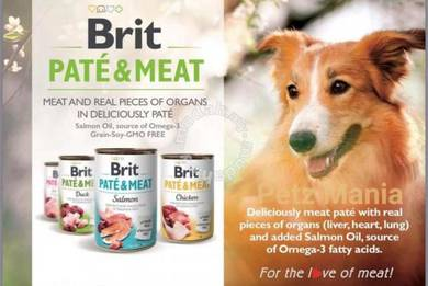 Brit Pate & Meat GRAIN FREE Dog Canned Food 400g