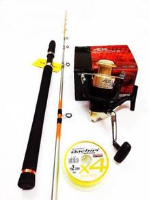Seahawk intrepid jigging rod combo shimano ax reel