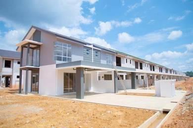 100% Loan, Brand New Double Storey Terrace, 20x70 Kulai