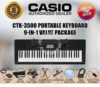 CASIO CTK-3500 Keyboard Piano