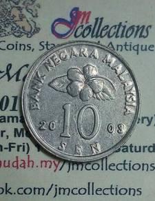 10 SeN MALAYSIA 2003 - AU (KEYDATE)