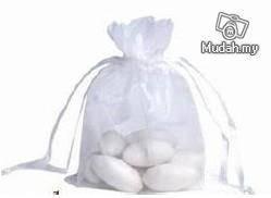 Wedding Gifts - White Sash Pouch