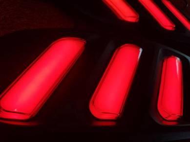 Honda civic fc x rear bumper light reflector lamp