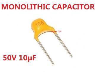 Monolithic Ceramic Capacitor 50V 10uF highquality