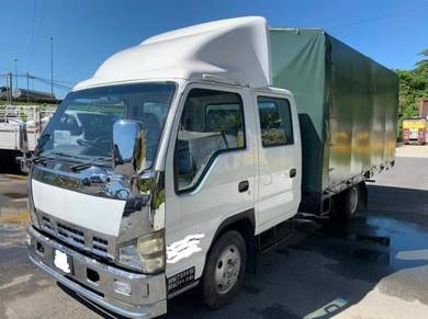Isuzu hino doublecab available 14ft or 17ft