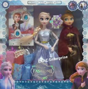 Cute & Adorable Frozen II Elsa & Anna Dolls