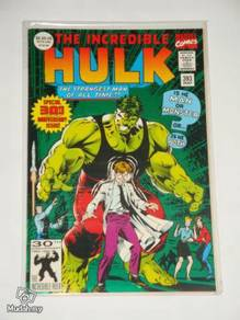 INCREDIBLE HULK issue 393. 30th Anniversary Issue