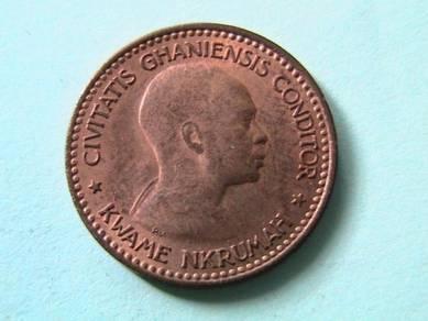 Ghana Republic Half Penny 1958 (UNC)[Kod : A1365]