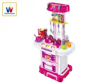 3 in 1 Little Chef Kitchen Cooker - Play Set Plays