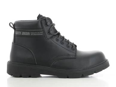 Shoes Safety Jogger X1100N Black CT MF PU Mid