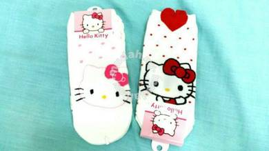 Kawaii 3D Hello Kitty kids Sock 100% made in korea