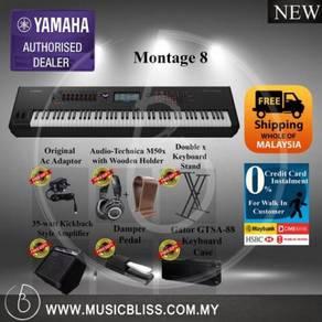 Yamaha Montage 8 Synth w/Free Shipping Malaysia