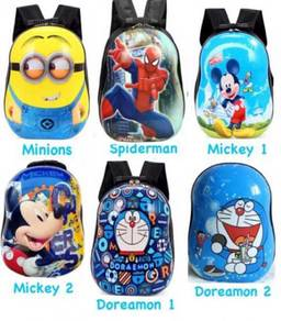 3d hard case cartoon bag / beg sekolah 09