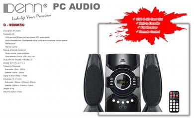 Denn Multi-Functional Speaker