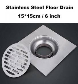 6 inch 15cm Stainless Steel Floor Drain Cover
