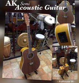 AK Semi Acoustic Guitar