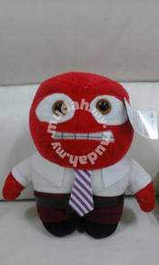 Inside out anger soft toy 12