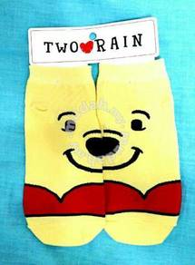 Kawaii Disney korean sock 3D winnie kids sock