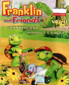 DVD ANIME Franklin And Harriet's Buggy Vol.11