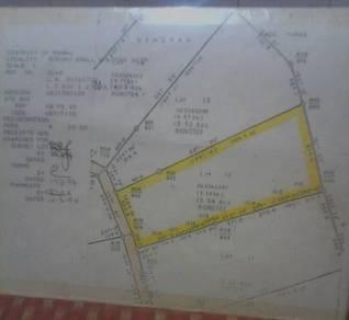 Tanah geran utk di jual daerah telupid Kg. Taviu
