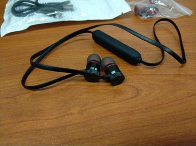 Wireless BT4.1 Earphone Magnet Stereo Noice Cancel