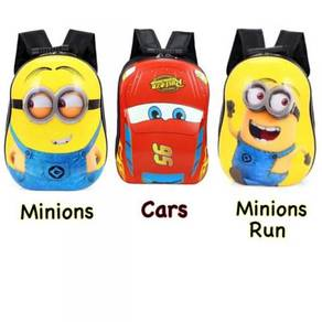 3d hard case cartoon bag / beg sekolah 02