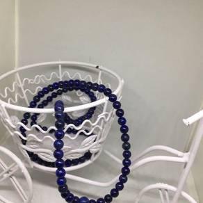 Genuine Lapis Lazuli Rosary/Mala Prayer Beads