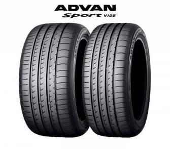 Yokohama Advan V105 SUV 295/35/21 N2 Porsche Tires
