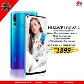 New Huawei nova 4 [ 8+128gb ] M'sia set