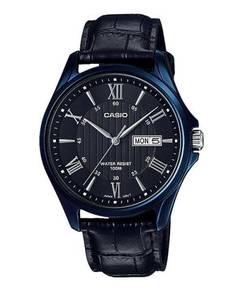 Watch - Casio Men Date MTP1384BUL-1 - ORIGINAL