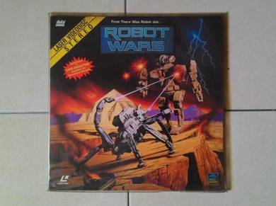 Dy Laser Disc LD Movie : Robot Wars