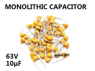 Monolithic Ceramic Capacitor 63V 10uF high quality