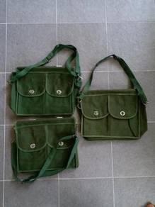 NOS Vintage School Bag levis nike adidas army