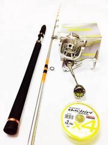 Seahawk intrepid rod & maguro bright demon reel
